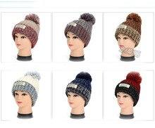 Новое Прибытие Мода Шапочки Шляпы Высокого Качества Популярные Помпоном Дамы Зимние Шапки Женщин