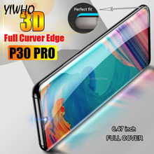 3D Full Curver Tempered Glass for Huawei P30 PRO Screen Protector Hawei Huawey Hawaii Huawai Huwai P 30Pro P30pro Fiml