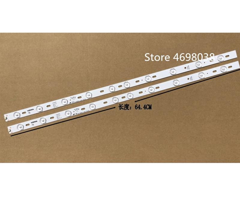 20piece lot 100 New KONKA KL32GT618 LED backlight 35017727 10leds 64 4cm