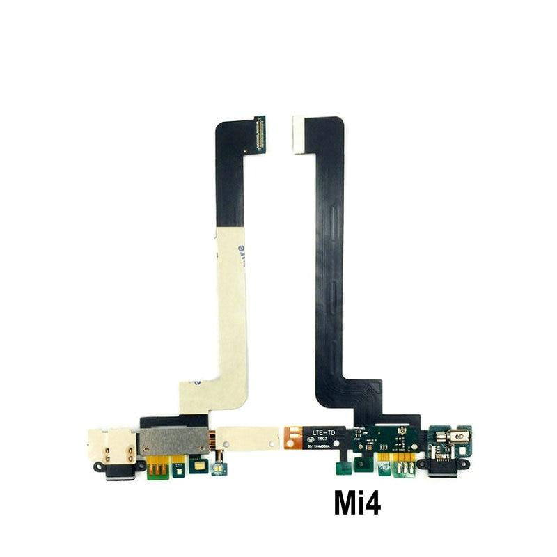 New Microphone Module+USB Charging Port Board Flex Cable Connector Parts For Xiaomi Mi4 Mi4C Mi4i Mi4S Replacement