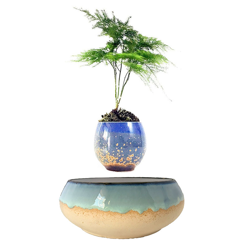 2018 japan levitating potted magnet floating pots air bonsai gifts (no plant) free shpping