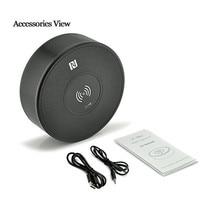 Carga inalámbrica Altavoces Bluetooth con Micrófono de Manos Libres Estéreo de Música Soporte de Tarjeta TF/FM/AUX para iPhone 5S 6 s LY13