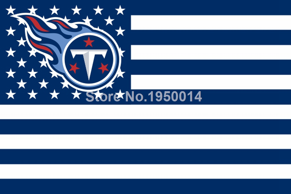 Tennessee Titans Nation Flag 3ft X 5ft Polyester Nfl