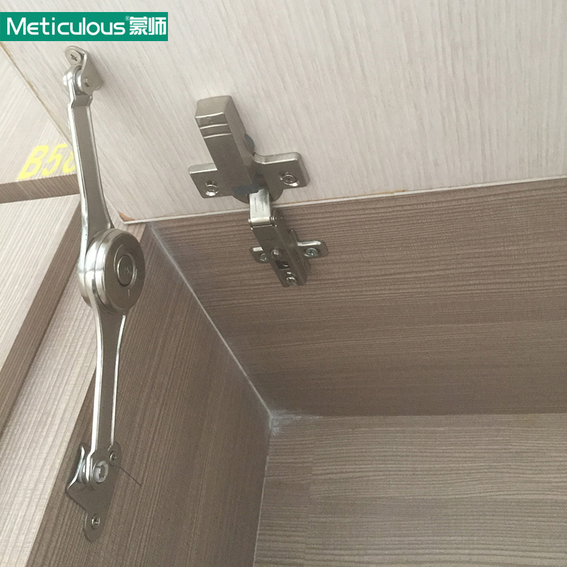 Meticulous Randomly Free Stop Lid Stay Adjustable Hinge Cabinet Cupboard Furniture Lift Up Flap Stay Support Hydraulic Hinges