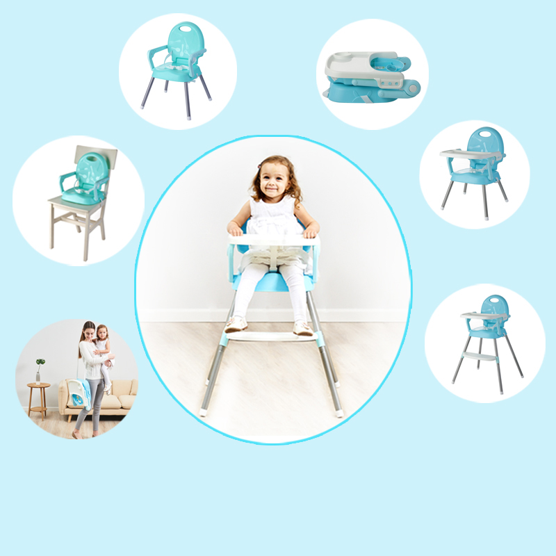 Eco-friendly Infant Baby Dinning High Chair Baby Feeding Highchair