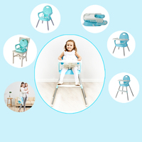 Eco friendly Infant Baby Dinning High Chair Baby Feeding Highchair