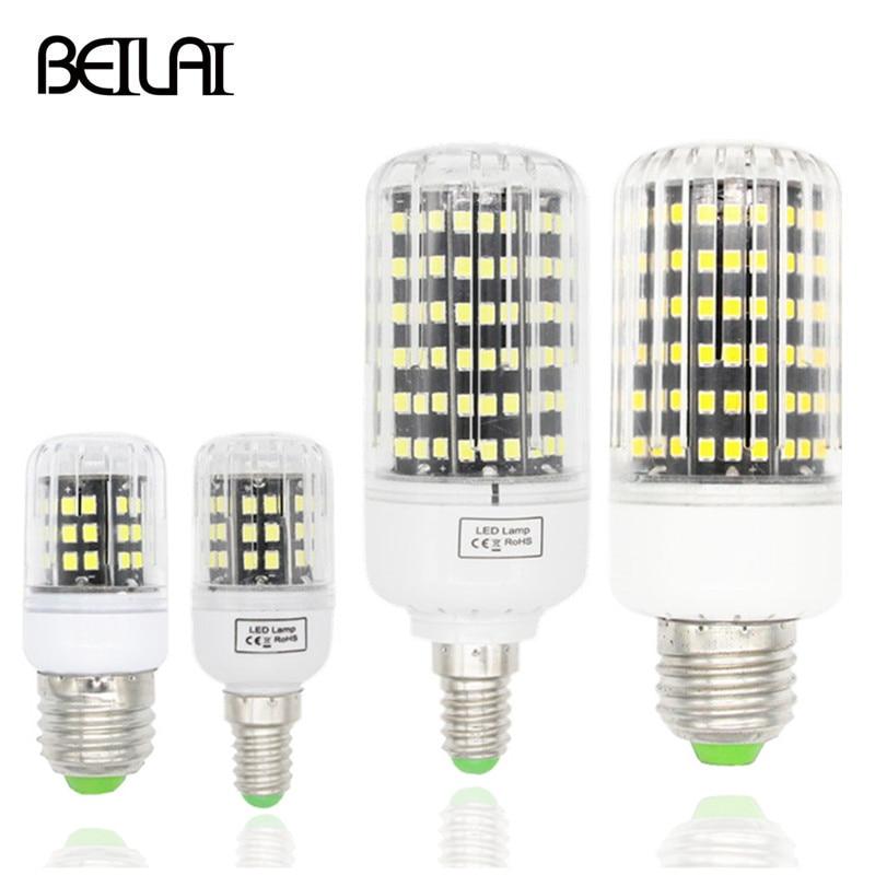 Aluminum Plate 2835 Lampda LED Lamp E27 220V Spotlight Candle Luz De Spot LED Bulb E14 Chandelier Bombillas LED Light Bulb