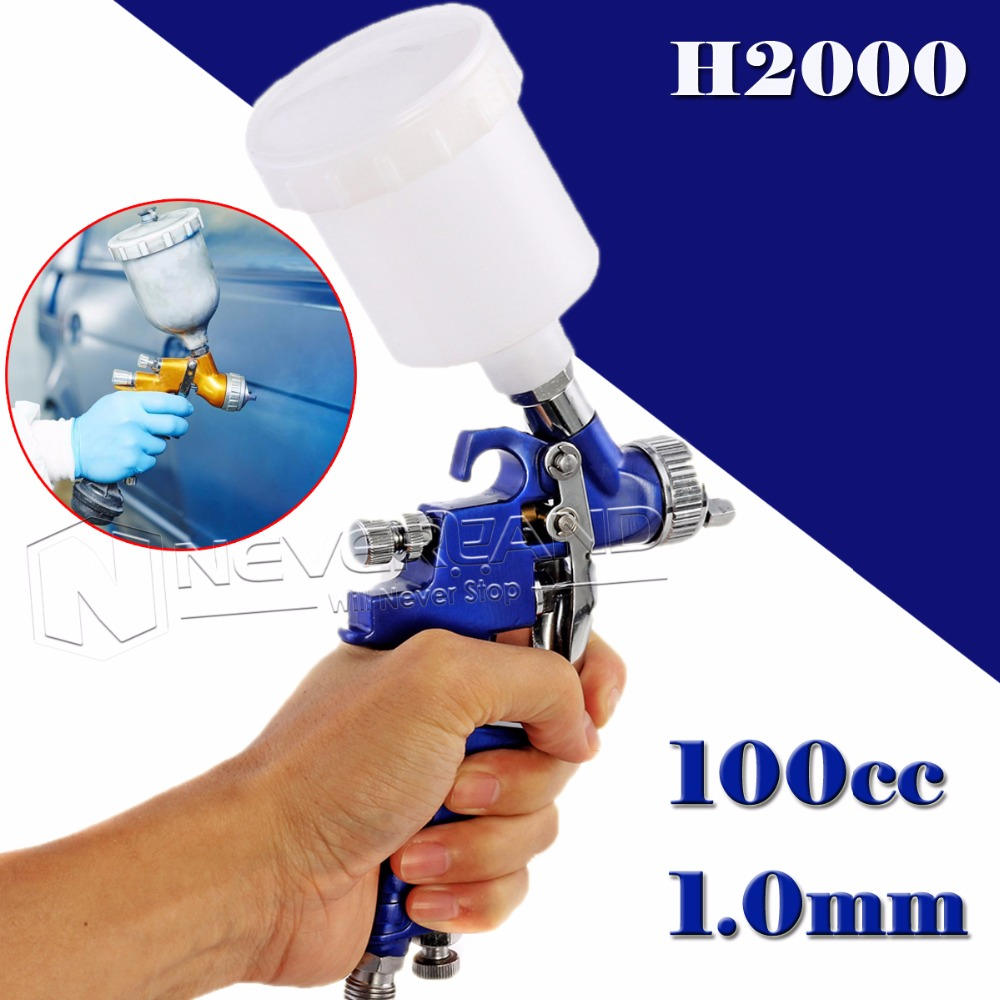 Mini Gravity Air Spray Gun Nozzle 0.8mm 120cc Cup Paint Sprayer Airbrush Professional Painting Tool Kit  цены