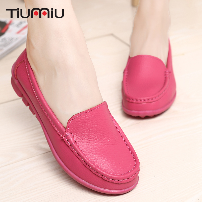 2018 Summer Soft Hospital Medical Shoes Nurse Doctor Non-slip Casual Shoes Pregnant Woman Shoes Surgery Breathable Leather Shoes