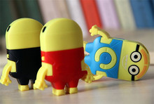 Despicable Me clip mp3 player music player MP3 with earphone and usb cable cord 30pcs per lot fedex free