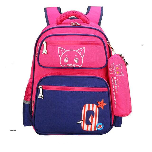 Children School Bags set For Girls boys Children orthopedic schoolbag  Backpack Primary School Backpack Kids Satchel sac enfant 4e8458782b154
