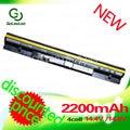 Golooloo 2200 mah preto bateria para lenovo ideapad s300 s310 s400 s400u s405 s410 s415 4icr17/65 l12s4l01 l12s4z01