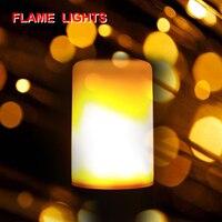 E14 E27 Ampoule LED Flame Effect Bulb 85 265V 3 Modes E12 E26 B22 LED Diode