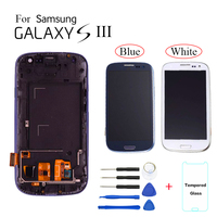 TFT LCD screen For Samsung Galaxy S3 I9300 LCD Display Touch Screen Digitizer Assembly with frame for samsung galaxy S3 lcd