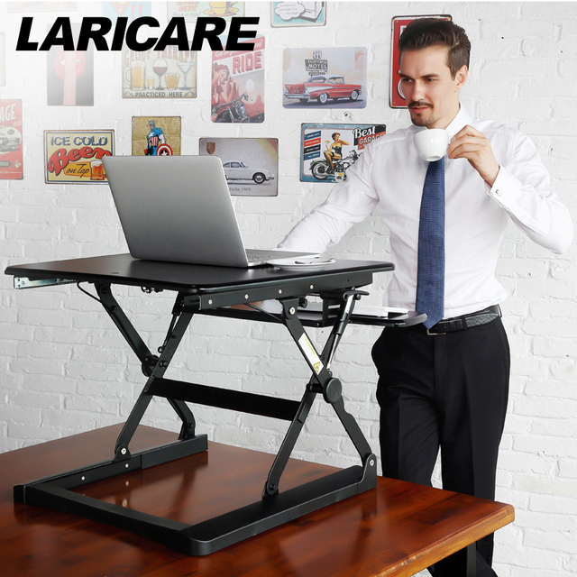 standing office table. Laricare Pro Office Table Multifunction Ergonomic Height Adjustable Computer Stand.pc Tablet Laptop TV Desk Standing S