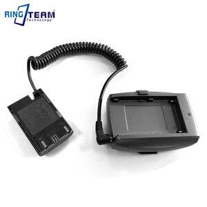 Image 3 - LP E6 Accoppiatore Batteria DR E6 + NP F970 F750 F550 Piastra di Montaggio Adattatore per BMPCC 4 K BMPCC4K Blackmagic Pocket Cinema Camera 4 K