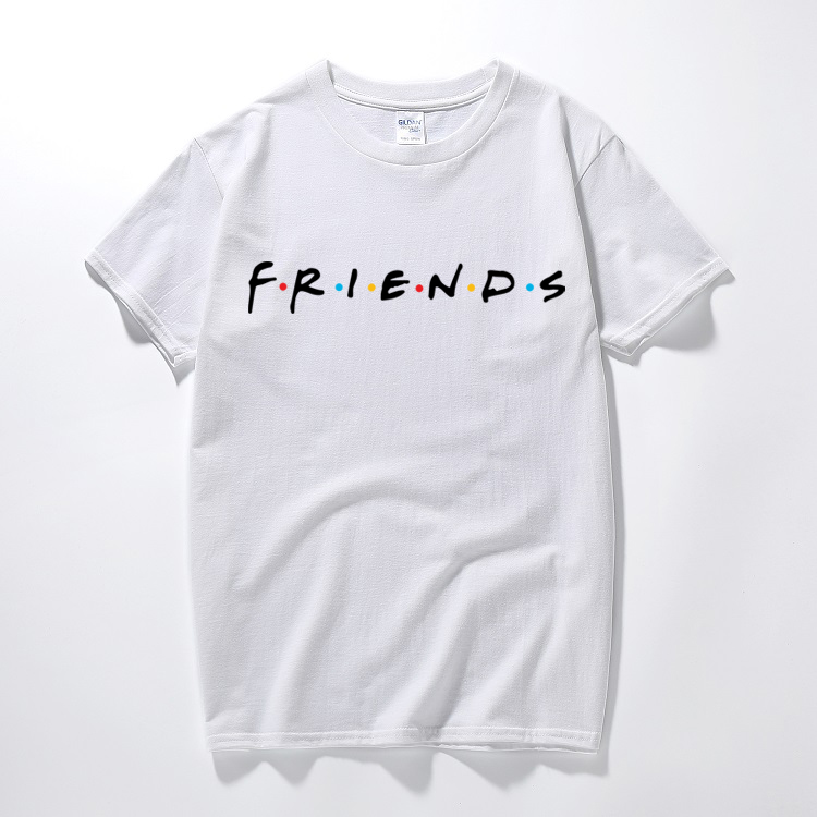 Friends T-shirt inspired 90s tv show sitcom euro sizes for men and women tee cotton t-shirt short sleeve top camiseta image