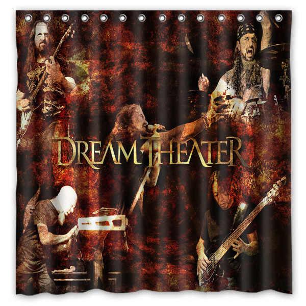 Дизайн Dream Theater, занавеска для душа в ванной, водонепроницаемая и Mildewproof полиэфирная ткань, занавеска для ванной s 180 см * 180 см