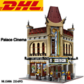 2017 New 2354Pcs Creator City Street Palace Cinema Model Building Kits Blocks Bricks Toy For Children Compatible With Gift 10232