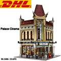 2017 Nuevo 2354 Unids Creador Ciudad Calle Palacio Cine Kits de Edificio Modelo Bloques de Ladrillos de Juguete Para Niños Compatibles Con El Regalo 10232