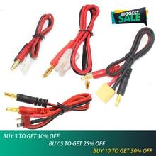 1 шт. RC соединительные кабели Т-образный разъем для банана/Большой Tamiya штекер для банана для IMAX B6 B6AC B8 зарядные устройства