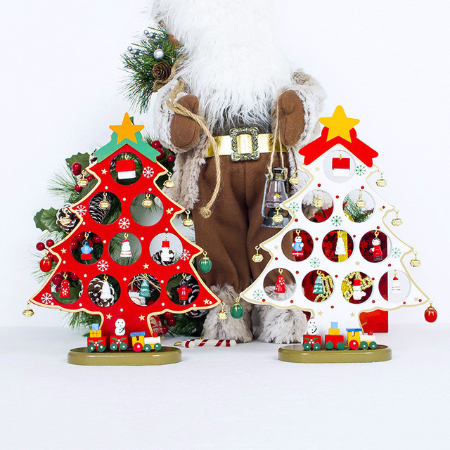 DIY Big Size Christmas Tree Toy Decor Christmas Ornament Gift for Children  Dinner Table Decor New Year Xmas Decoration For Home,in Pendant \u0026 Drop