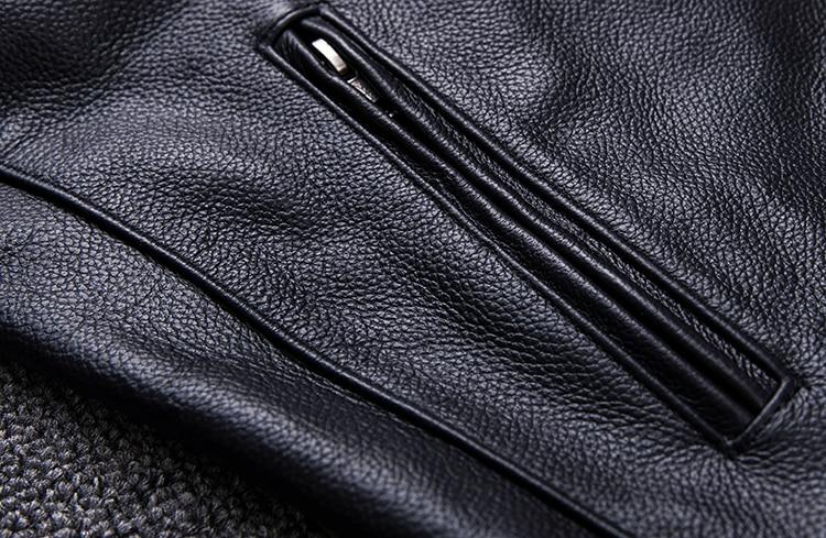 HTB170UAajnuK1RkSmFPq6AuzFXaX Brand new style motor style leather jacket,mens genuine leather coat.plus size black slim jacket.cowhide.cheap