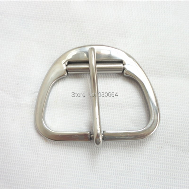 Stainless Steel Cinch Buckle Roller Leather Metal Buckle  P012