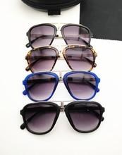 Fashion Men Women Retro Sunglasses 5 Colors Unisex Matte Frame Carrera Glasses Brand New Good Quality Bike 2019