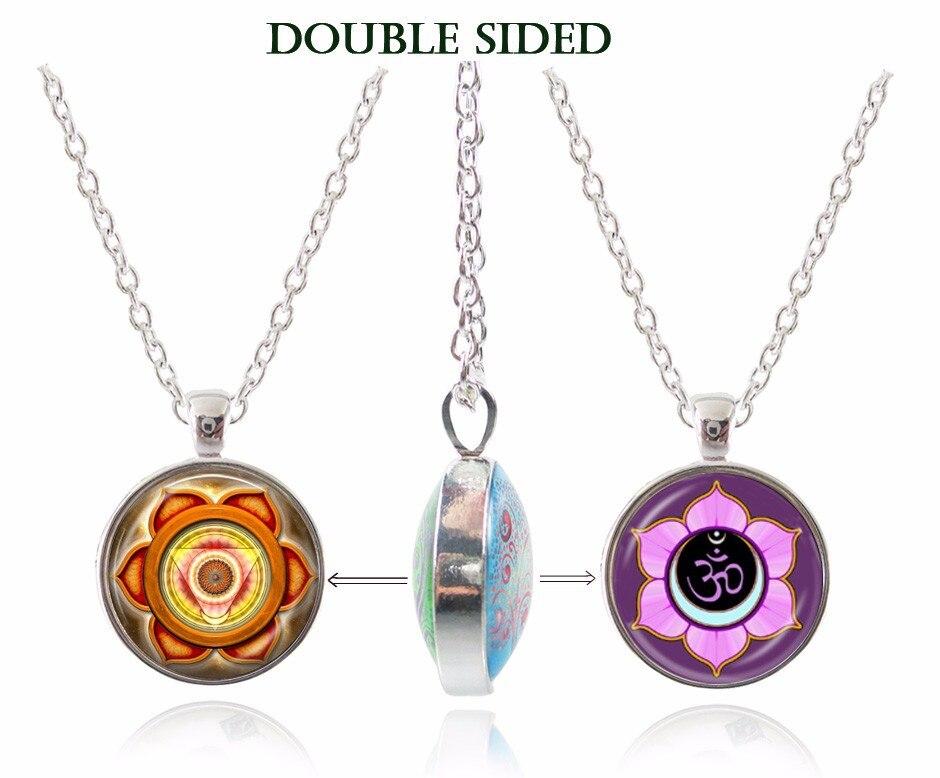 ᗖБуддизм изделия старинные ом ожерелье Мандала Подвеска ... 4e524d5b846