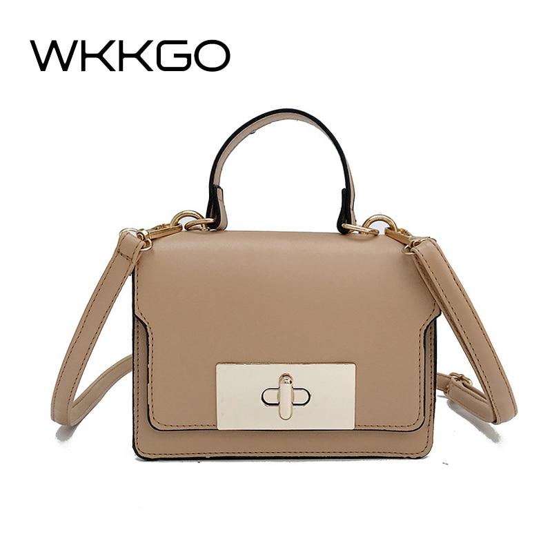 WKKGO Fashion Mini Shopping Flap Satchel Coin Purse Mobile Shoulder Messenger Crossbody Bags Ladies Shopping Handbags Clutch Bag