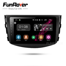 Funrover Android 8 0 Car dvd For Toyota Rav4 2007 2008 2009 2010 2011 IPS Radio