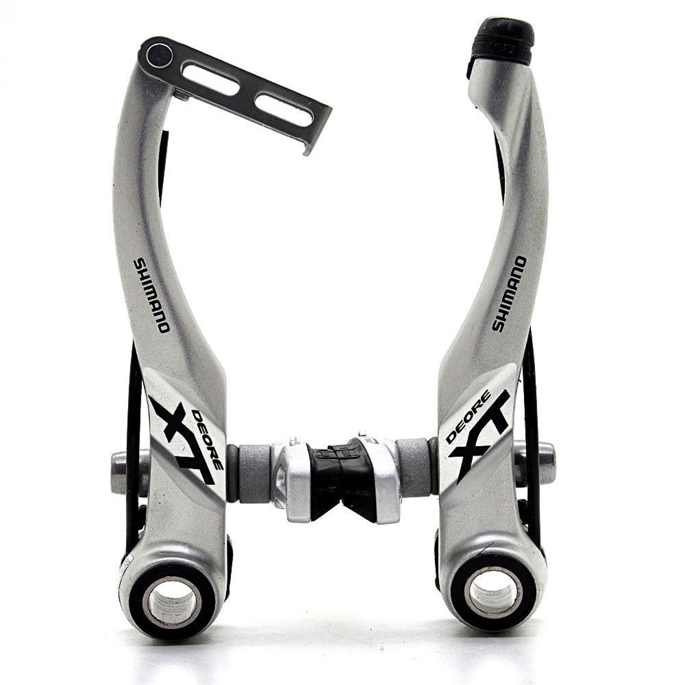 SHIMANO Mountain Bicycle V-Brake Silver - Rear BR-T4010