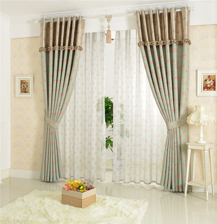 1m*2.6m Korean Curtain Fashionable Oriental Blackout Curtains And Drapes  Fancy Living Room Splice Curtain Valance Design 2014 In Curtains From Home  U0026 Garden ...