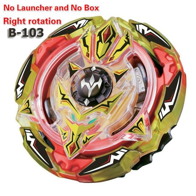 Все модели пусковые установки, волчок бейблэйд для серийной съемки игрушки GT Arena Металл Бог Fafnir Прядильный механизм бейблэйд игрушки B-145 B-148 B-150 B-153 - Цвет: b103