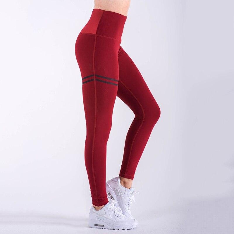 Leggings   Pant Trouser High Waist Elasticity For Women Lady Running Gym Fitness Sports