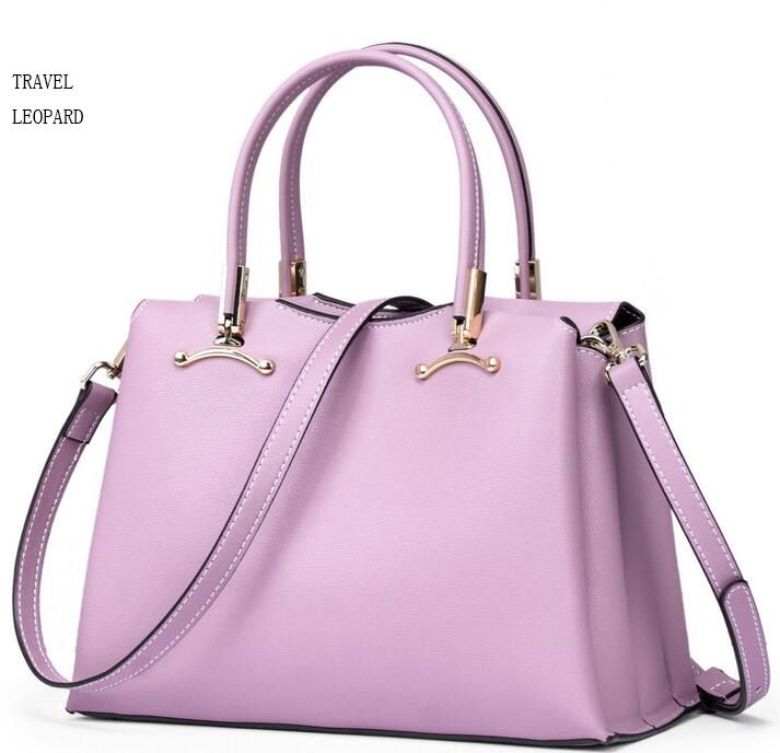 TRAVEL LEOPARD 2018 luxury woman bag sac a main bolsa feminina handbags women leather tote Shoulder
