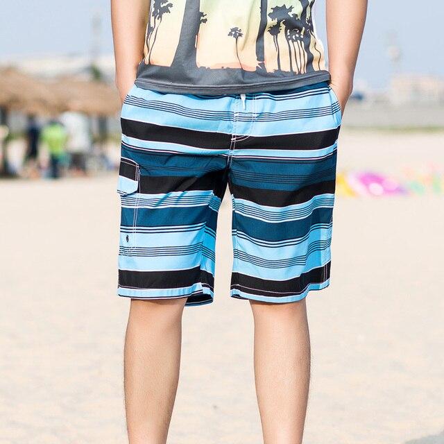 Новый M/3Xl Мужская Повседневная Пляжные Шорты Плюс Размер Полосатый Летние Шорты Плюс Размер Мужской Быстрое Высыхание Homme Дышащий шорты J1774