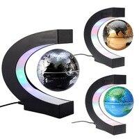 Magnetic Levitation Globe Glow in the dark Floating World Map Tellurion LED Light Children Educational Toys Desktop Toys Decor