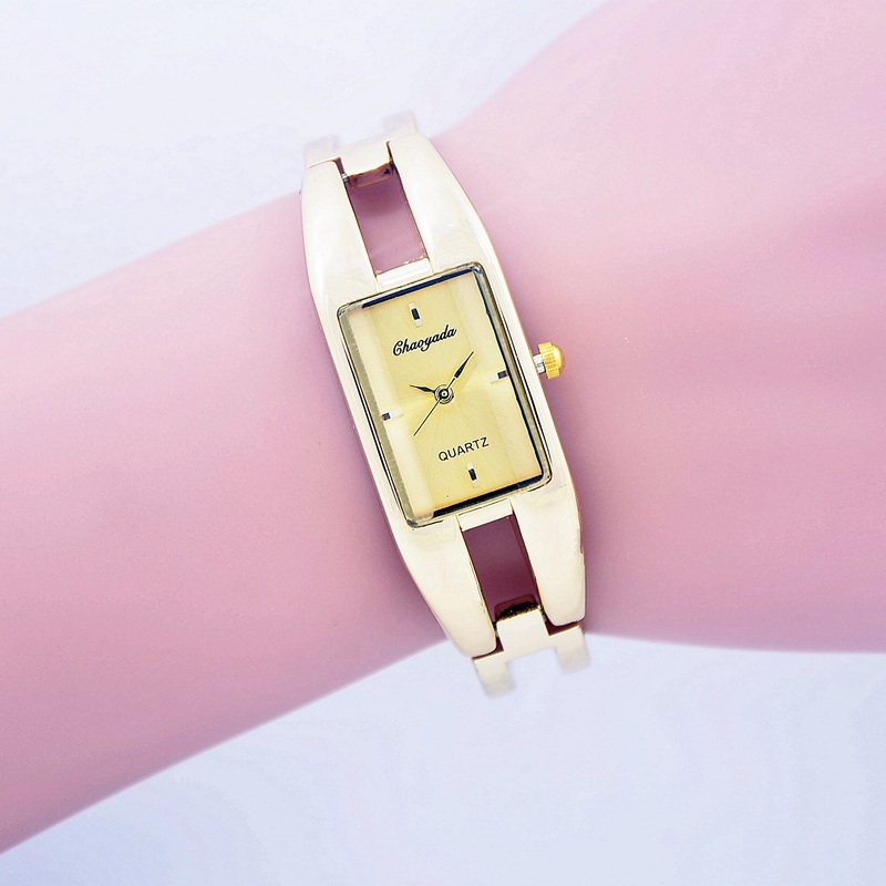 relojes relogio feminino fashion Woman Watches Brand Luxury Rectangle Stainless Steel Bracelet Watch Women Dress Quartz-watch купить
