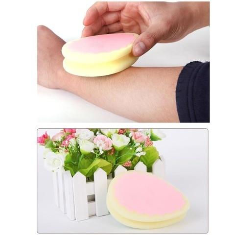 1 Pcs Hair Removal Magic Painless Hair Removal Depilation Sponge Pad Remove Facial Leg Arm Body Hair Removal Cream Tool Epilator Multan