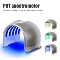 Portable PDT LED photon light Therapy 7 Colors Led Face Mask Light Phototherapy Lamp Machine For Acne Remover Skin Rejuvenation