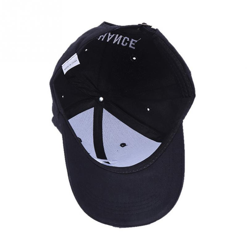 "Embroidered ""Chance"" The Rapper Baseball Cap - Inside View"