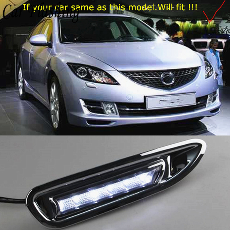 Car Flashing 2pcs For Mazda 6 Mazda6 2008 2009 2010 LED