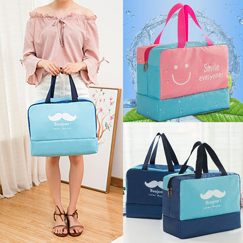 Fashion Men And Women Travel Waterproof Storage Bag Oxford Cloth Travel Bag Swimming Bag Beach Bag