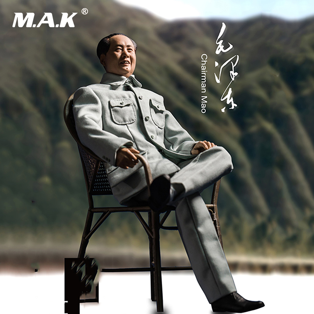 1/6 Scale China Great Leader Chairman Mao Zedong Movable Sculpture SCULPTURE TIME  ST-009 mao zedong works dictionary chinese edition written by li jie