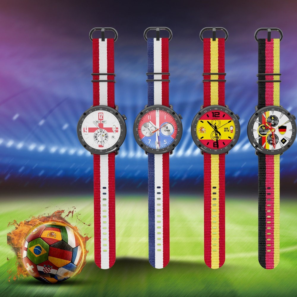 LEMFO 2018 Russia Football Cup GPS Smart Watch IP67 Waterproof Bluetooth Sport Men Watch Limited Edition For ios Android