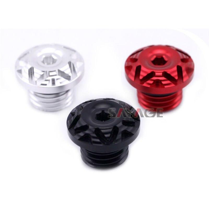 For DUCATI MONSTER 696/MONSTER 796/MONSTER 821/MONSTER 1100 EVO/MONSTER 1200 Oil Filler Screw Cover