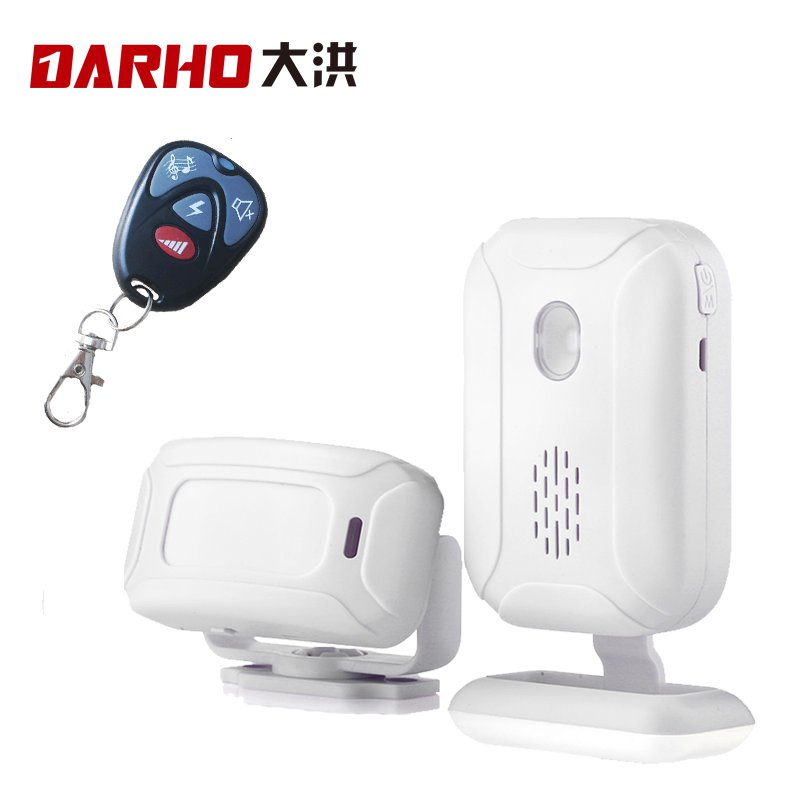 Darho Store Shop Home Entry Security Welcome Chime Doorbell Wireless Infrared IR Motion Sensor Welcome Device Doorbell Alarm