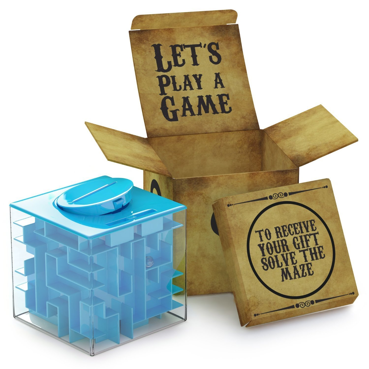 Money Maze Puzzle Box For Kids and Adults Unique Give Gifts Fun